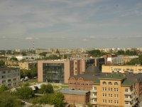 Вид на город Астрахань